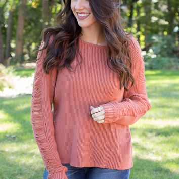 Ribbed Cutout Detailed Sweater- Multiple Options