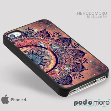 Hot Mandala Datura Hippie for iPhone 4/4S, iPhone 5/5S, iPhone 5c, iPhone 6, iPhone 6 Plus, iPod 4, iPod 5, Samsung Galaxy S3, Galaxy S4, Galaxy S5, Galaxy S6, Samsung Galaxy Note 3, Galaxy Note 4, Phone Case
