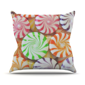 "Libertad Leal ""I Want Candy"" Throw Pillow"