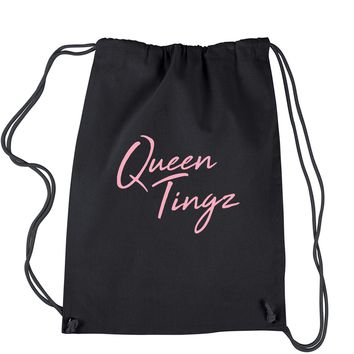 Queen Tingz Drawstring Backpack