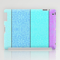 Cool Tones Paper Snowflakes Pattern #1 iPad Case by 2sweet4words Designs
