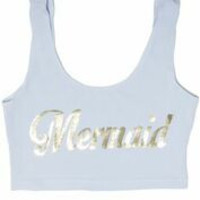 MYVL Mermaid Bralet
