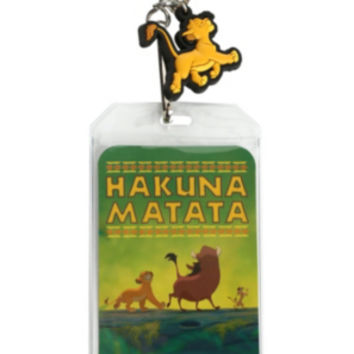 Disney The Lion King Hakuna Matata Lanyard