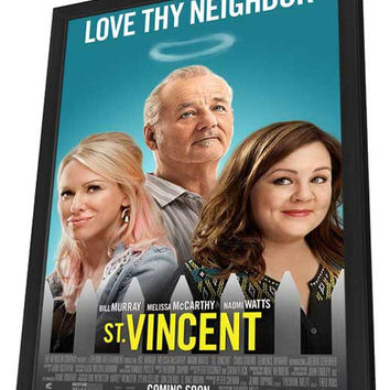 St. Vincent 27x40 Framed Movie Poster (2014)