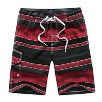 Beach Homme Short Pants Summer Quick Dry Silver Boardshorts