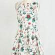 Mid-length Sleeveless Fit & Flare Luck Be a Lady Dress in Flora by Closet from ModCloth
