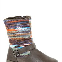 Short Navajo Flat Boot