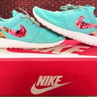 simpleclothesv : Nike Roshe Run Women Men Casual Sneakers Sport Running Shoes