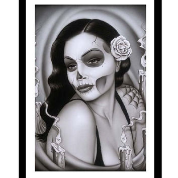 Day of the Dead Aria Fine Art Print