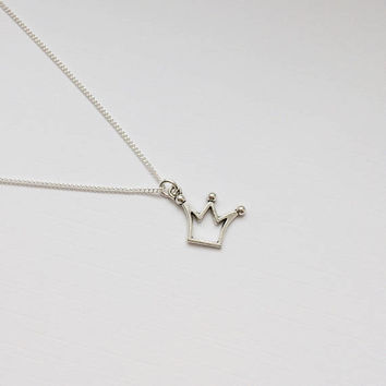 Riverdale/Jughead Jones Inspired Charm Necklace - Handmade Silver Necklace