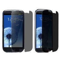 Importer520 Anti-Spy Privacy LCD Screen Cover Guard for Samsung Galaxy S III /S3 i9300