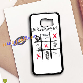 One Direction Louis Tomlinson Tattoos Samsung Galaxy S6 Case Planetscase.com