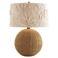 Flamingo Rattan Table Lamp