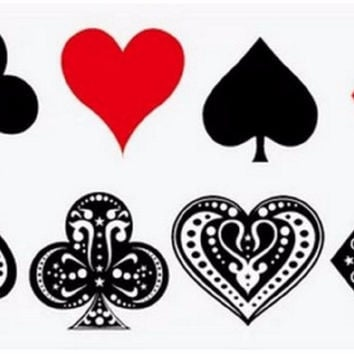 Harley Quinn Poker Tattoos