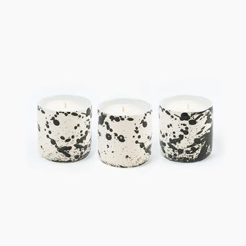 Standard Wax Splatter Pot Candle for Poketo