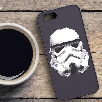 Stormtrooper Helmet iPhone SE Case