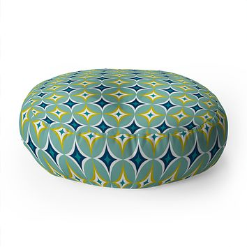 Heather Dutton Astral Slingshot Floor Pillow Round