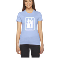 GAME OVER (HATE MARRIAGE) dark background - Women's Tee