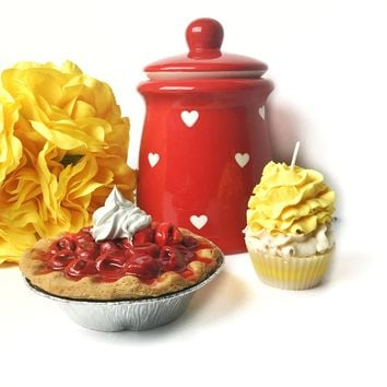 Fake Cherry Pie Tart Mini Pie Prop