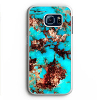 Turquoise Stone Samsung Galaxy S6 Edge Case Aneend