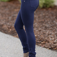 Perfect Fit Jeggings Navy