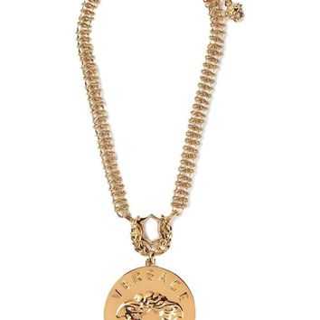 Versace Women's Iconic Medusa Necklace