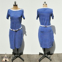 Ralph Lauren Striped Dress | Nautical Dress NEW