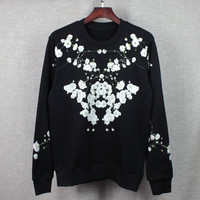 Hoodies Winter Long Sleeve Round-neck Jacket [10159716999]