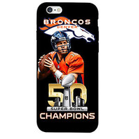 Denver Broncos Case Peyton Manning Case For iPhone and Samsung