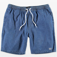 Obey Keble Blue Denim Shorts | Zumiez