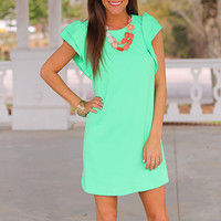 Out Of This World Dress, Lime