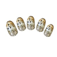 YESURPRISE New Trendy Nail Art Packs Decal Wrap Tiger Leopard Print Animal Water Transfer Sticker Fashion Xmas Gift #4