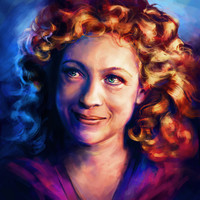 River Song Art Print by Alice X. Zhang
