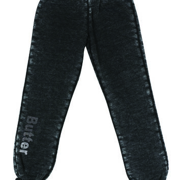 "Butter GIRLS ""THE ATHLETE"" VARSITY BURNOUT PANT"