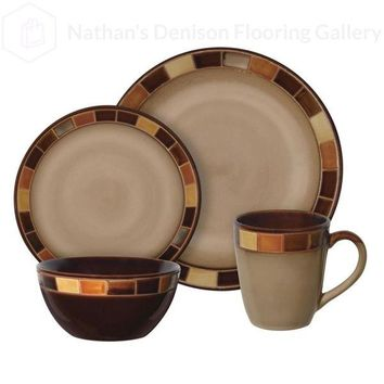 Gibson Elite Casa Estebana 16 pc Dinnerware Set