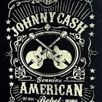 "New! Johnny Cash ""American Rebel"" Classic Country Licensed Concert T-Shirt"