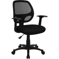 Flash Furniture Mesh Back Computer Chair, Black - Walmart.com