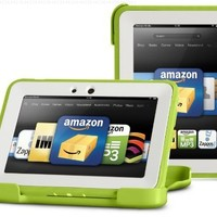 "OtterBox Defender Series Protective Case for Kindle Fire HD 7"" (Previous Generation), Green/Apple (with built-in screen protection)"