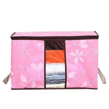 ZMHEGW organizer Storage Organization Designer Flower Printed Quilt Clothes Storage Bags qualtiy first DROP SHIP