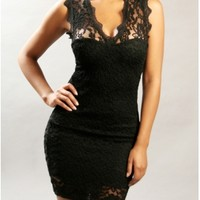 The Lace Bodycon Dress - 29 N Under