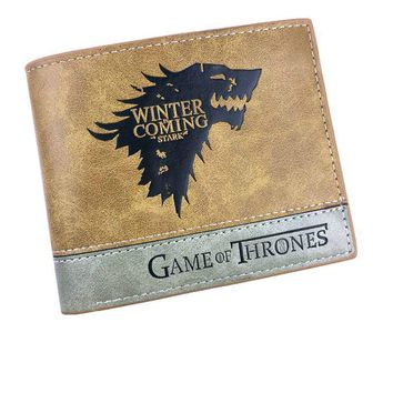 Top DRAGON BALL Game of Thrones A lot of mixed color wallet animation