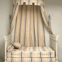 Antique French Directoire Style Canopy Bed