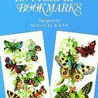 12 Butterfly Bookmarks