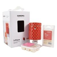 SONOMA life + style® Hobnail Outlet Wax Warmer Set