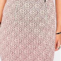 New Look Zip Printed Aline Skirt