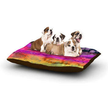 "Ebi Emporium ""California Surf 7 "" Purple Black Dog Bed"