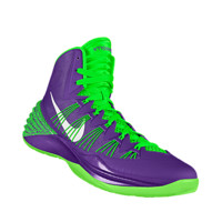 Nike Hyperdunk 2013 iD Custom Women's Basketball Shoes - Red