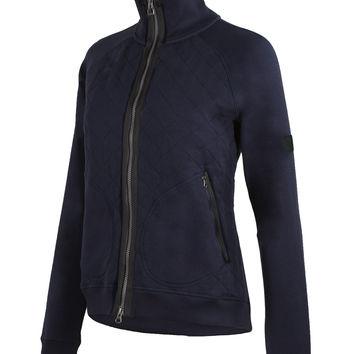 Noble Outfitters Impulse Navy Fleece Jacket for Women