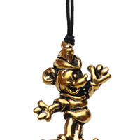Mickey Mouse Handmade Brass Necklace Pendant Jewelry