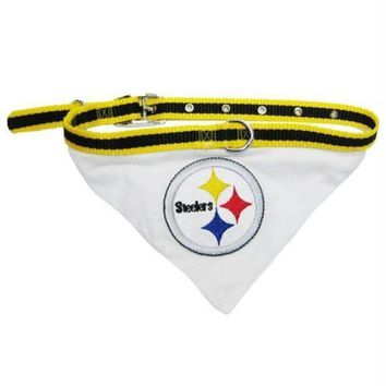 ESBONI Pittsburgh Steelers Dog Collar Bandana